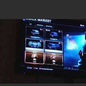 Rockstar Other - GTA Account & A Bonus Free Black Ops 3 Account PS4